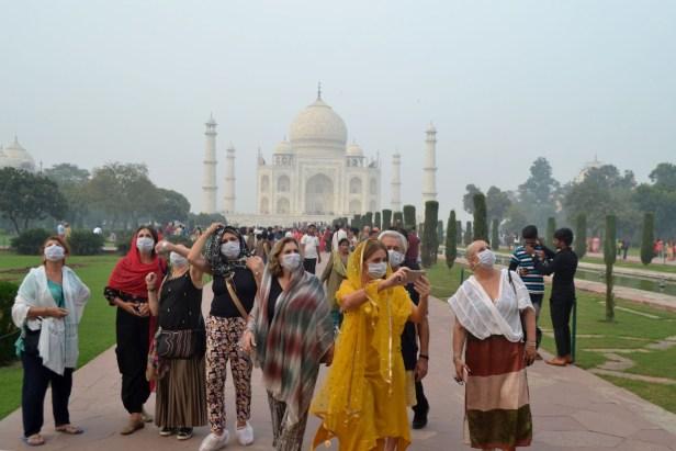 อินเดีย Mask Taj Mahal 1