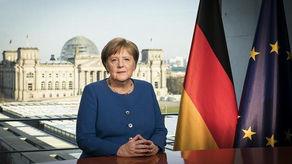 Angela Merkel สเปน