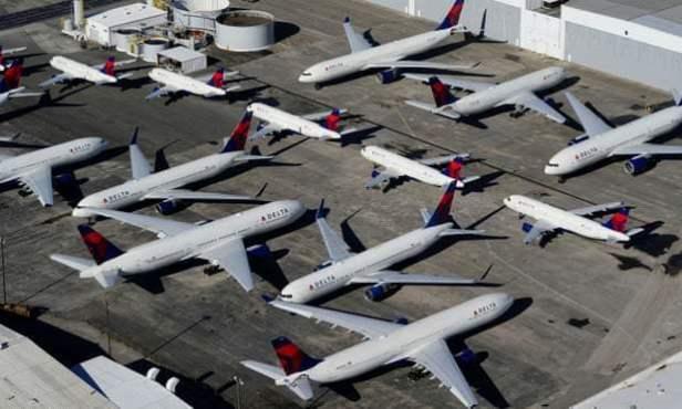 Delta-Airlines เทขาย