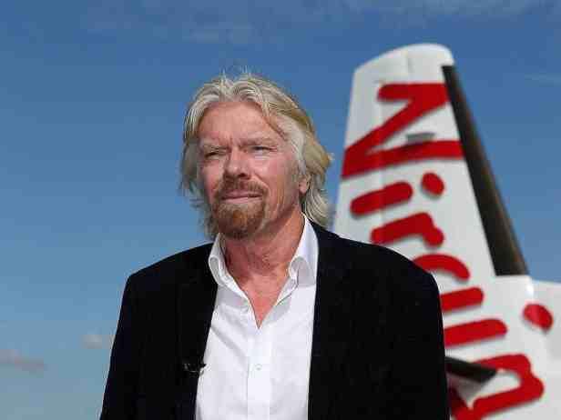 Branson Virgin Australia