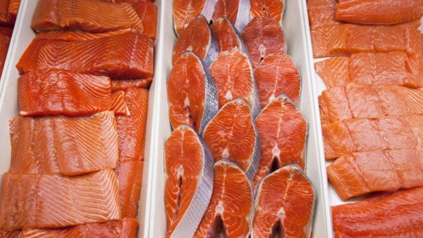Salmon ปักกิ่งจีนตั้งการ์ด