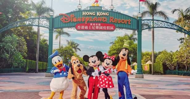 ปิดฮ่องกง Disneyland