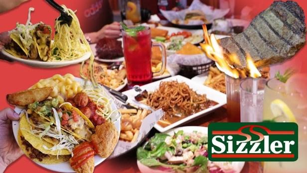 Sizzler menu