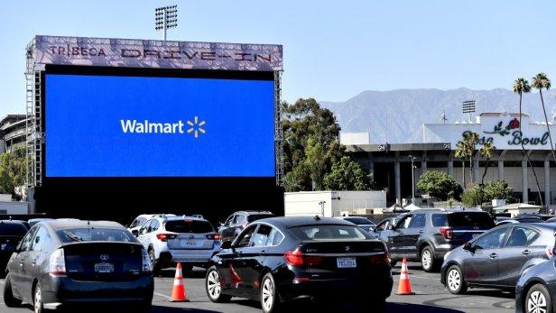 Wallmart Drive in