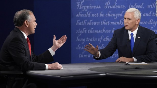 Kaine Pence Debate