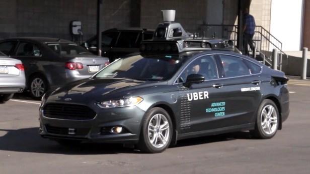 รถ ai Uber