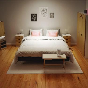 Bedroom with UVC