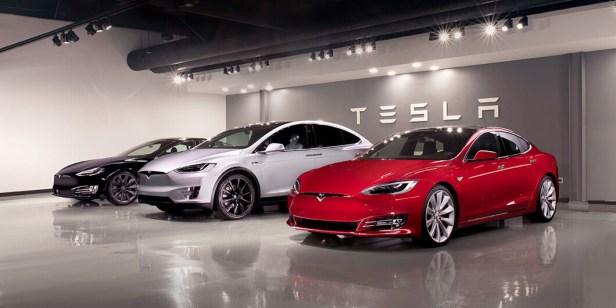 EV Biden Tesla