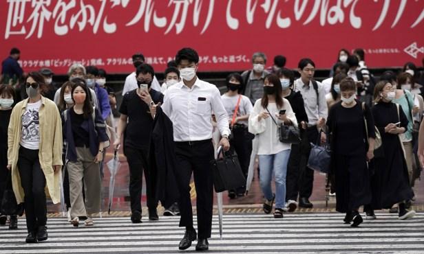 Virus Outbreak Japan โตเกียว
