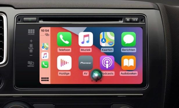 carplay EV Apple