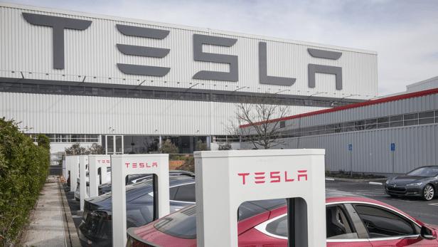 โรงงาน Tesla Panasonic