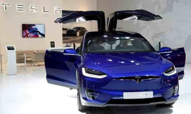 Tesla EV จีน