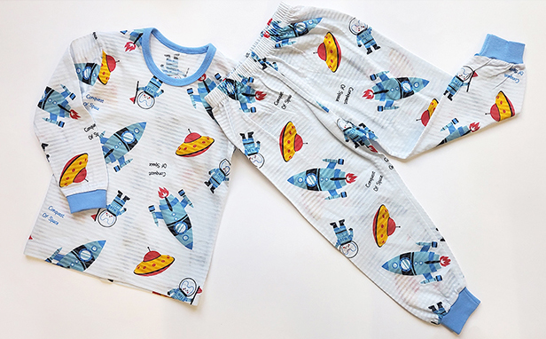 Olomimi Allospace Kid Pyjamas Set Product showing