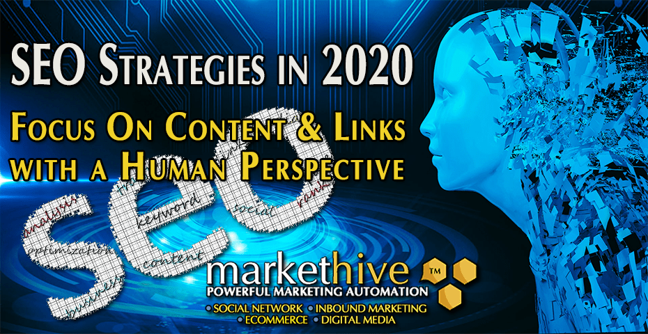 SEO StrategyIn 2020 - Focus On Content and Links 1