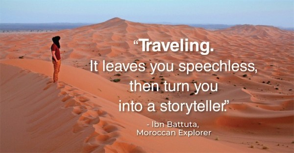 Traveling Proverb