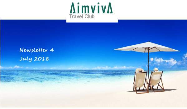Aimviva Travel Club Newsletter July 2018 travel tech