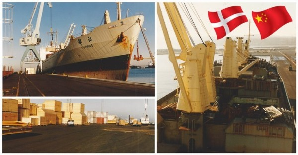 Shipping History CN - DK