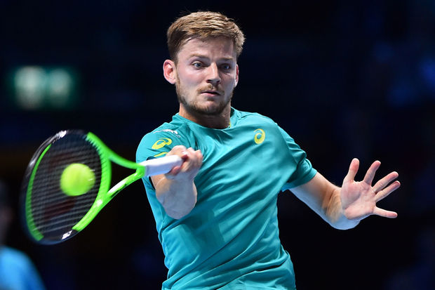 Les matches de David Goffin seront diffusés en direct sur sa page Facebook