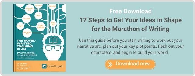 The Novel-Writing Training Plan