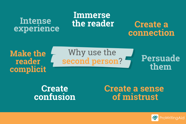 reasons for using the second person