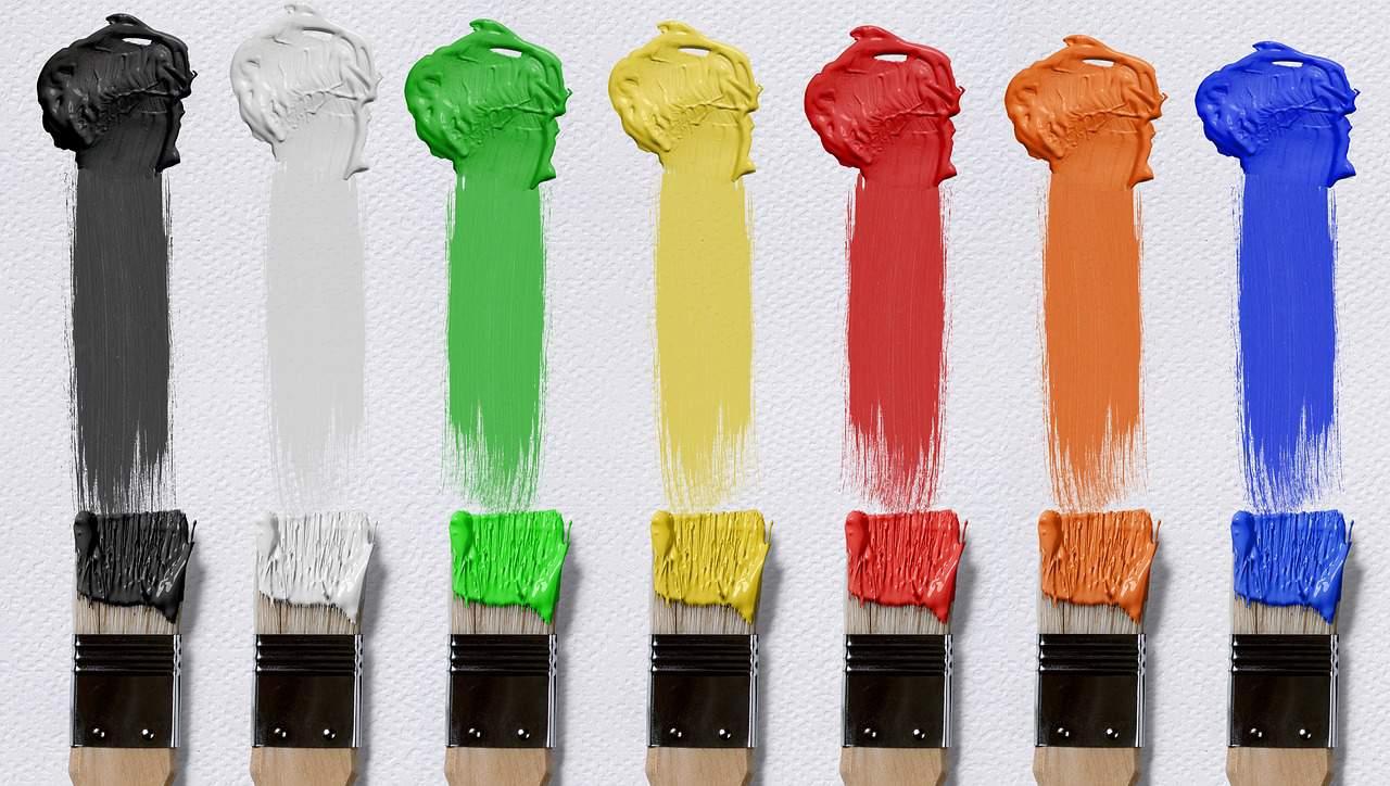 Grafikai tervezés logó színek