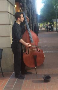 Portland bass player