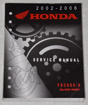 2002 2003 2004 2005 2006 HONDA SILVERWING FSC600 A Scooter Service Repair Manual | eBay