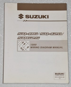 1999 Suzuki Grand Vitara Vitara Factory Electrical Wiring