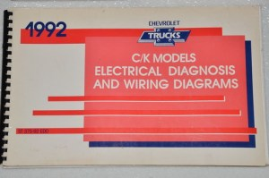 1992 CHEVY TRUCK C K 1500 2500 3500 SUBURBAN Electrical