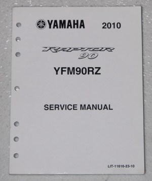 2010 YAMAHA RAPTOR 90 ATV Service Manual YFM90RZ Factory