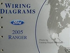 2005 Ford Ranger Pickup Truck Electrical Wiring Diagrams Original Factory Manual  Factory
