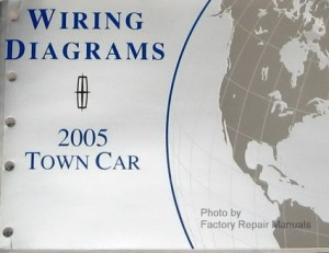 2005 Lincoln Town Car Electrical Wiring Diagrams