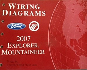 2007 Ford Explorer & Mercury Mountaineer Electrical Wiring