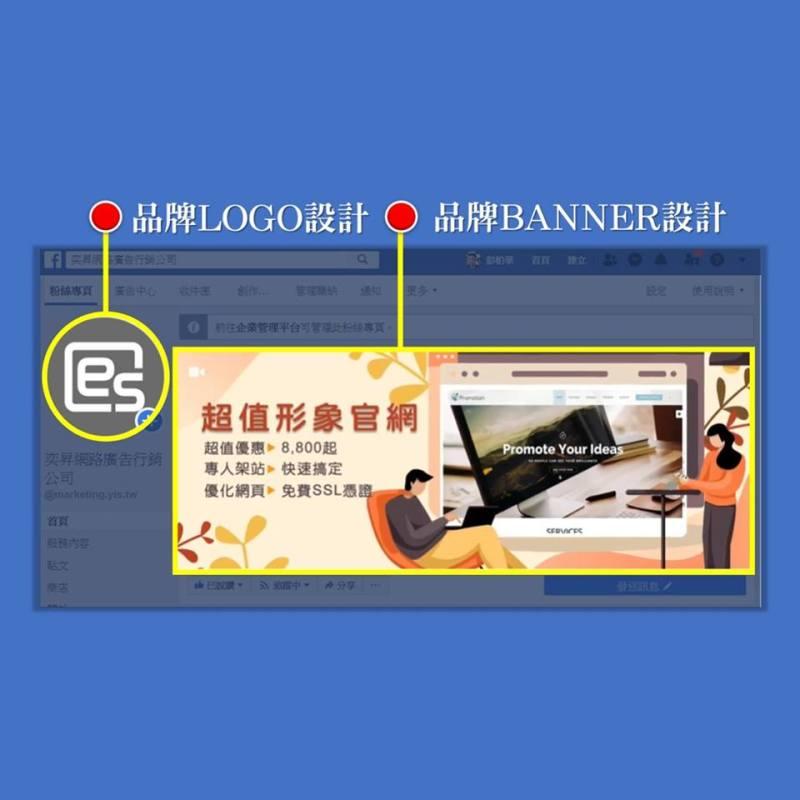 奕昇網頁設計平面企業LOGO及CI形象設計