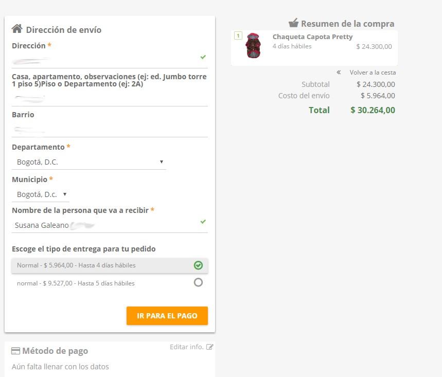 Jumbo online Bogotá