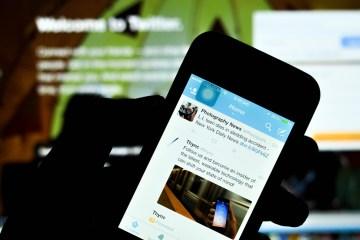 Twitter etiqueta perfiles