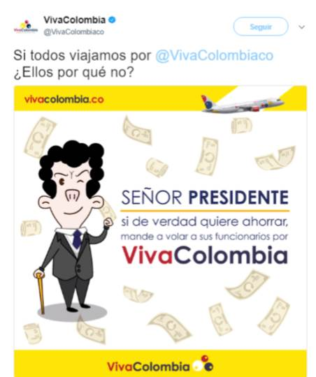 Santos Troll VivaColombia