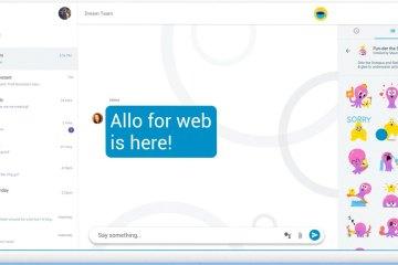 Cómo utilizar Google Allo desde tu computador