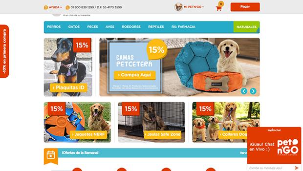 PetnGo. Compra en línea artículos para tus mascotas