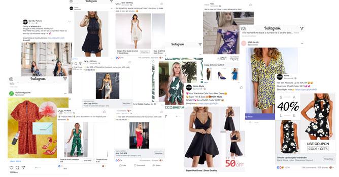 eCommerce Fashion Ads