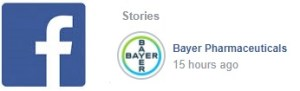 Bayer Facebook story