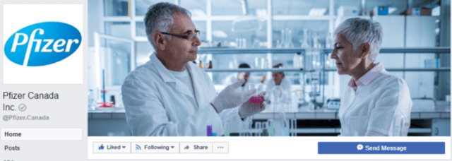 FB cover - Pfizer Canada