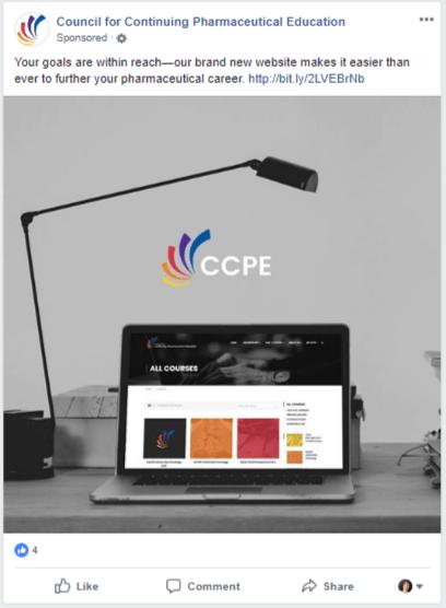 CCPE FB ad
