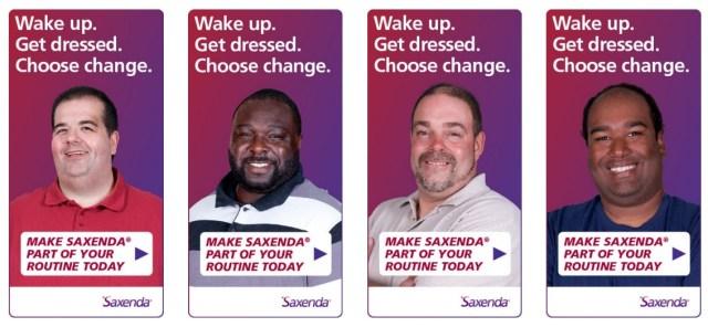 Saxenda ads - 3
