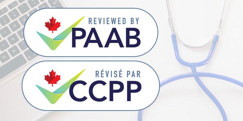New PAAB logo / Nouveau logo du CCPP