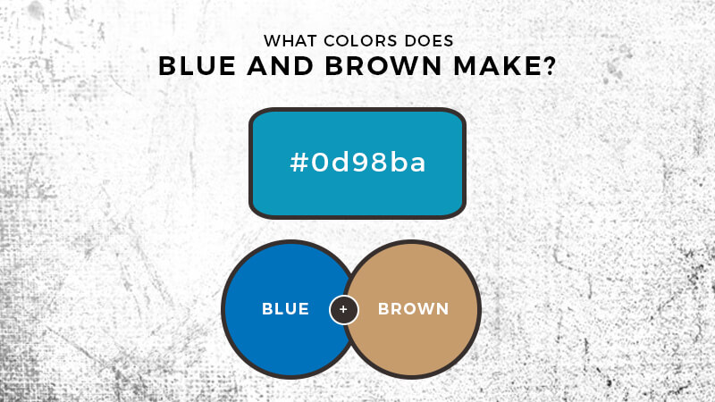 Blue And Brown Mixed What Color Does Blue And Brown Make