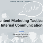 Content Marketing for Internal Communications