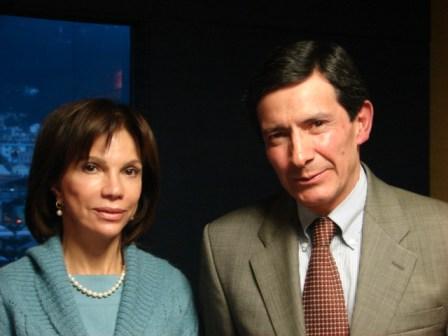 Carmen Stisin y Patricio Alvarez