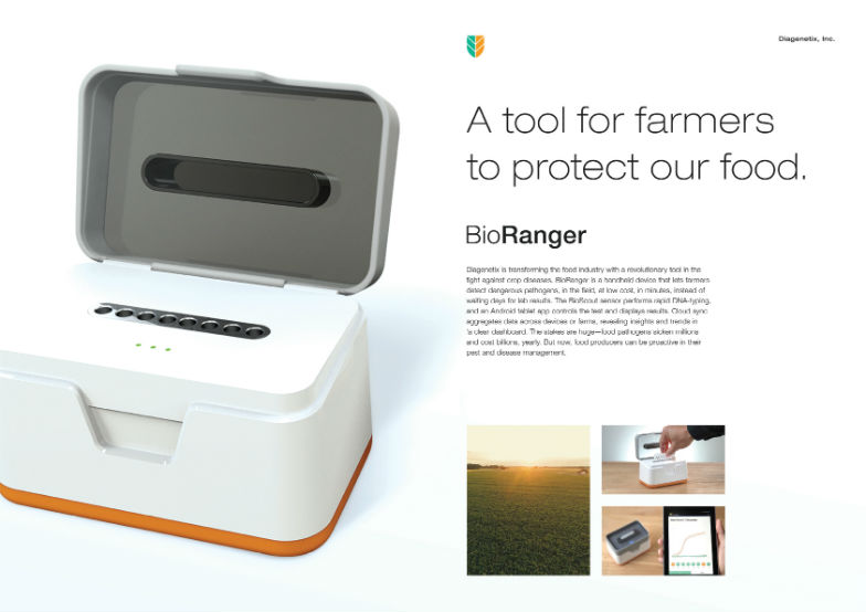 "PRODUCT DESIGN LION ""Bioranger"" para Diagenetix por R/GA New York, Estados Unidos."