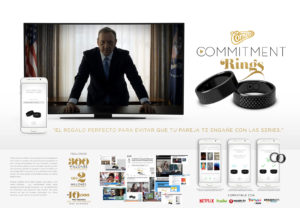 Commitment Rings, LOLA Mullen Lowe para Cornetto de Unilever España